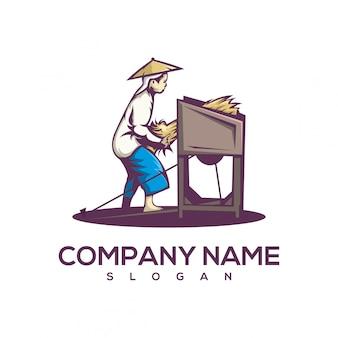 Logotipo da colheita