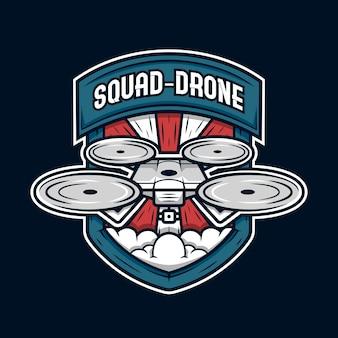 Logotipo da comunidade drone
