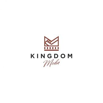 Logotipo da coroa, kingdom media