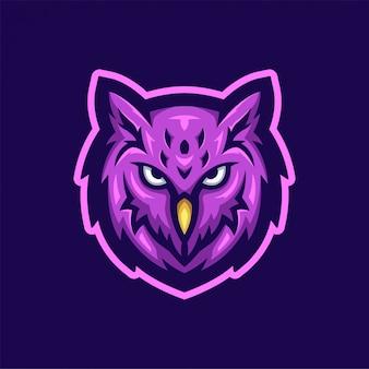 Logotipo da coruja