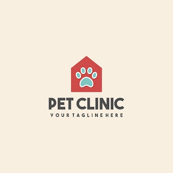 Logotipo da creative pet clinic house