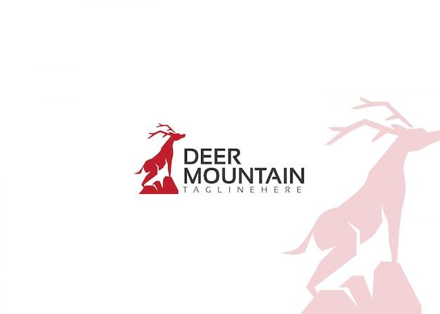 Logotipo da deer mountain