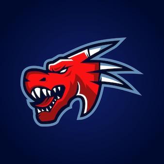 Logotipo da dragon esports