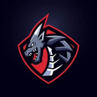 Logotipo da dragon esports