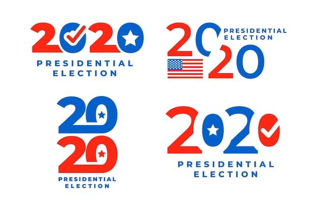 Logotipo da eleição presidencial dos eua em 2020