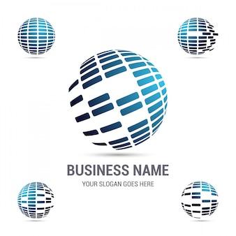 Logotipo da empresa corporativa