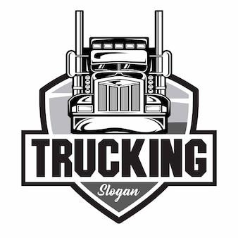 Logotipo da empresa de caminhões