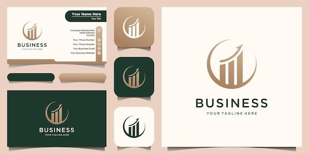 Logotipo da empresa de finanças