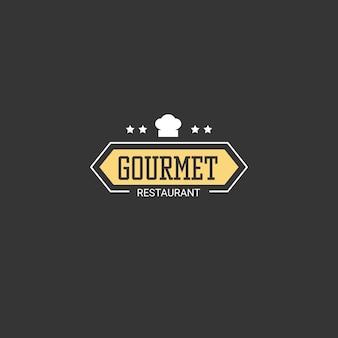 Logotipo da empresa de negócios de restaurante