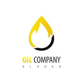 Logotipo da empresa de petróleo