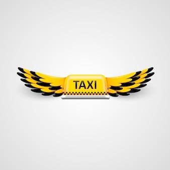 Logotipo da empresa de táxi.