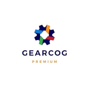 Logotipo da engrenagem