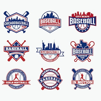 Logotipo da equipe de beisebol