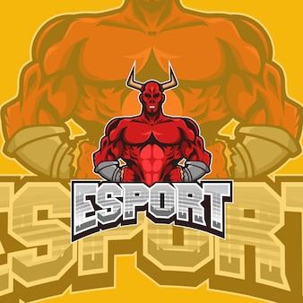 Logotipo da equipe de satan