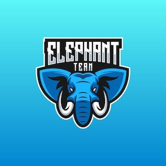 Logotipo da equipe do elefante