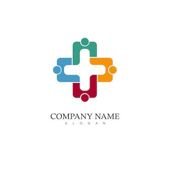 Logotipo da equipe, ícone das pessoas