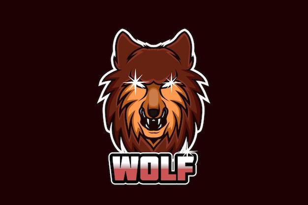 Logotipo da equipe wolf e sport