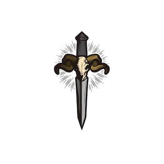 Logotipo da espada