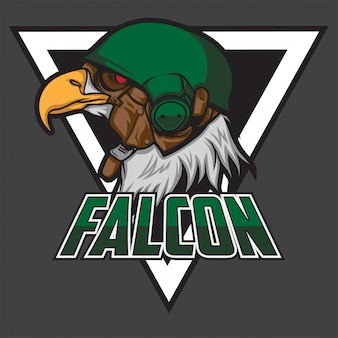 Logotipo da falcon esport
