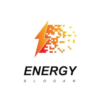 Logotipo da fast bolt energy