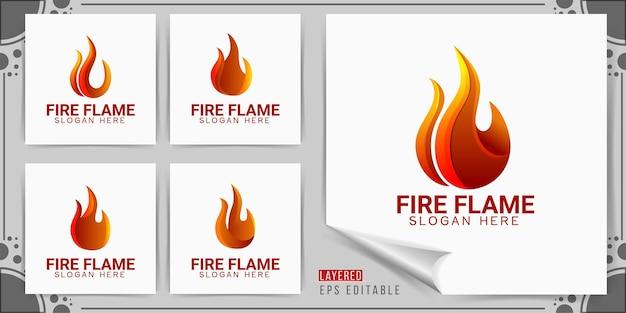 Logotipo da fire flame