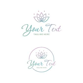 Logotipo da flor de lótus