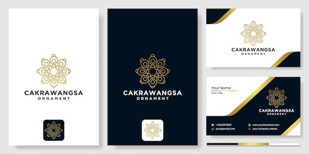 Logotipo da flor, modelo de vetor de design de círculo abstrato ícone de flor, logotipo para cosméticos, hotel, salão de beleza, salão de beleza