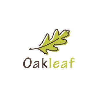 Logotipo da folha de carvalho