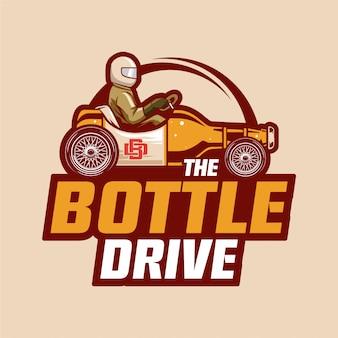 Logotipo da garagem de cerveja