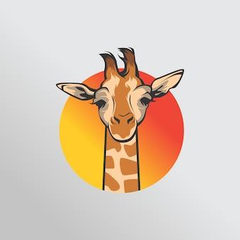 Logotipo da girafa