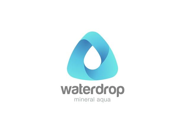 Logotipo da gota d'água.