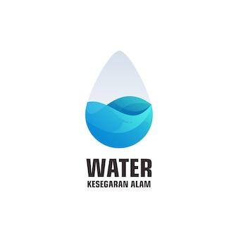 Logotipo da gota d'água