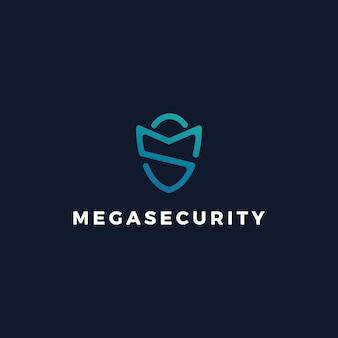 Logotipo da guarda de segurança da ms