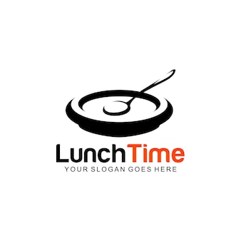 Logotipo da hora do almoço