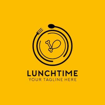Logotipo da hora do almoço