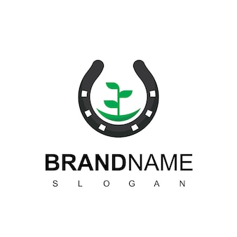 Logotipo da horse farm