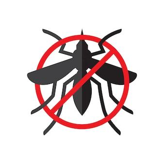 Logotipo da ilustração vetorial do dia mundial da malária