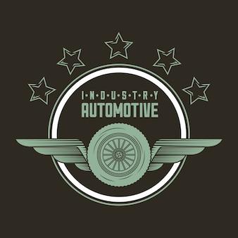 Logotipo da indústria automotiva