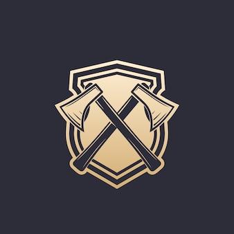 Logotipo da indústria de madeira