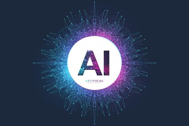Logotipo da inteligência artificial