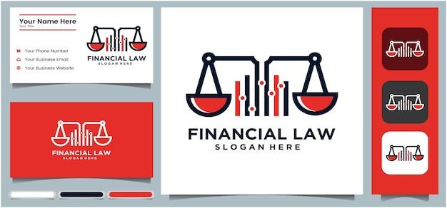 Logotipo da justiça legal finanças advogado espada escala criativo escritório de advocacia design de logotipo modelo de logotipo
