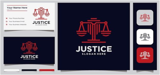 Logotipo da justiça universal advogado espada escala criativo escritório de advocacia design de logotipo modelo de logotipo