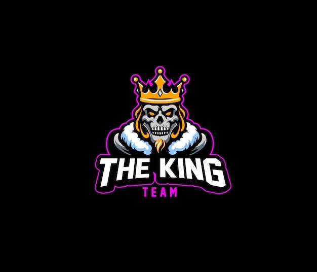 Logotipo da king team esport