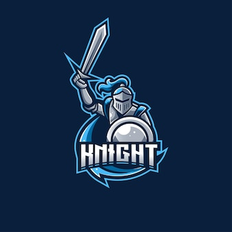 Logotipo da knight spartan