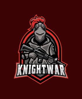 Logotipo da knight war esports