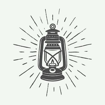 Logotipo da lâmpada e iluminação