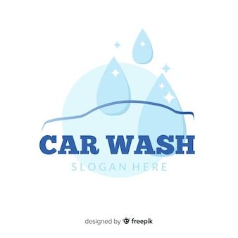 Logotipo da lavagem de carro