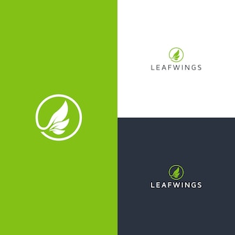 Logotipo da leafwings
