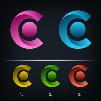 Logotipo da letra c