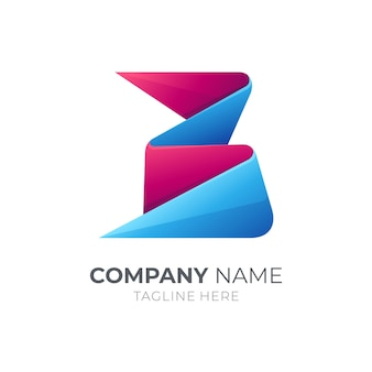 Logotipo da letra inicial b